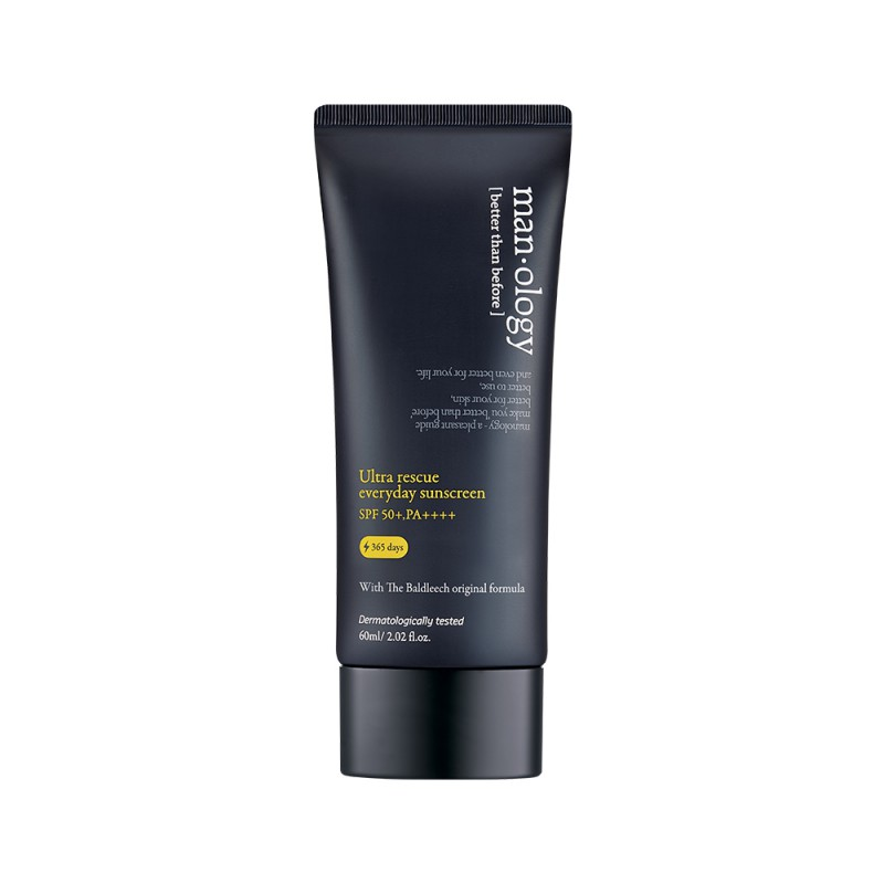 Manology Ultra Rescue Everyday Sunscreen SPF50+ PA++++