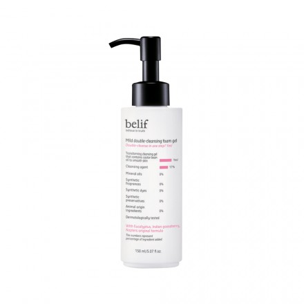 Mild Double Cleansing Foam Gel