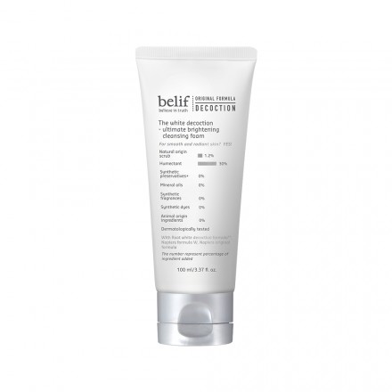 The White Decoction - Ultimate Brightening Cleansing Foam
