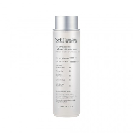 The White Decoction - Ultimate Brightening Toner